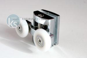 ролик двой ной верхний для душевой кабины ИГО