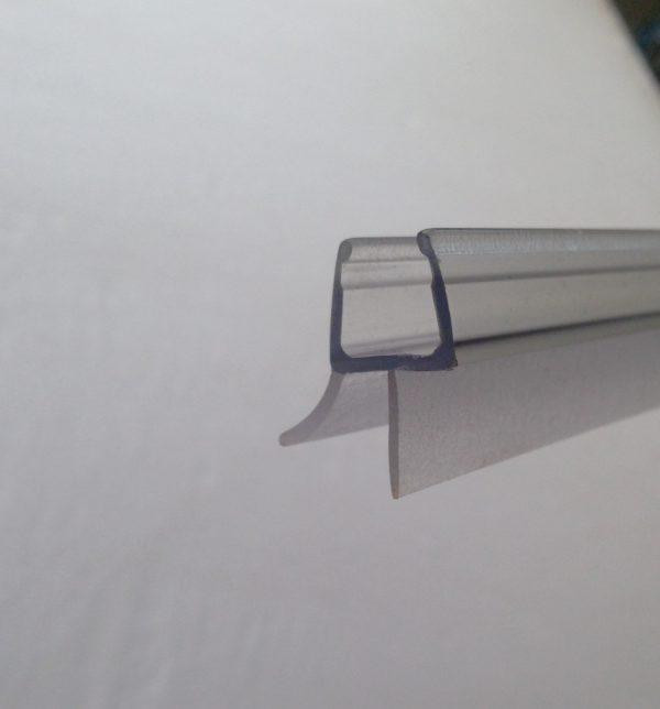 Силиконовый уплотнитель Т-образный на толщину 8-10 мм