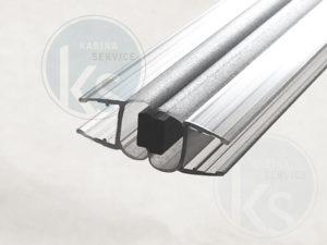 Магнитный уплотнитель на 90 градусов стекло 8 мм